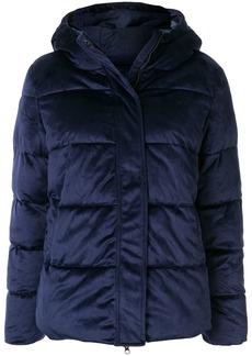 Unreal Fur panelled padded jacket