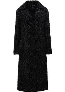 Unreal Fur Stardust metallic coat
