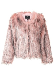 Unreal Fur textured metallic detail jacket