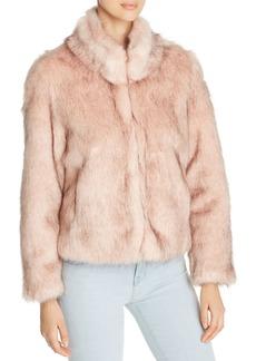 Unreal Fur Delish Short Faux Fur Coat