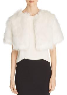Unreal Fur Love a Fur Faux Fur Bolero