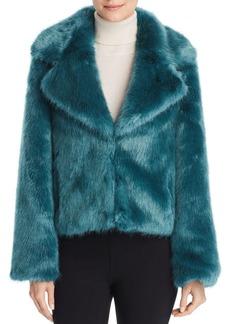 Unreal Fur Madam Butterfly Faux Fur Jacket