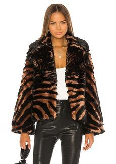 Unreal Fur Madam Purr Jacket