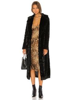Unreal Fur The Black Bird Coat
