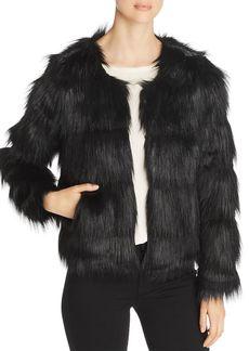Unreal Fur The Elements Short Faux Fur Coat