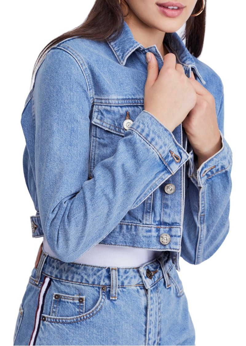 e6d5d549b2f9 Urban Outfitters Exclusives BDG Urban Outfitters  90s Crop Denim Jacket
