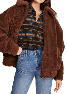 Urban Outfitters Exclusives BDG Urban Outfitters Batwing Faux Shearling Jacket