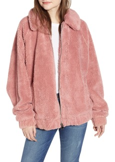 Urban Outfitters Exclusives BDG Urban Outfitters Batwing Teddy Fleece Jacket