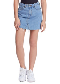 Urban Outfitters Exclusives BDG Urban Outfitters Denim Raw Edge Miniskirt