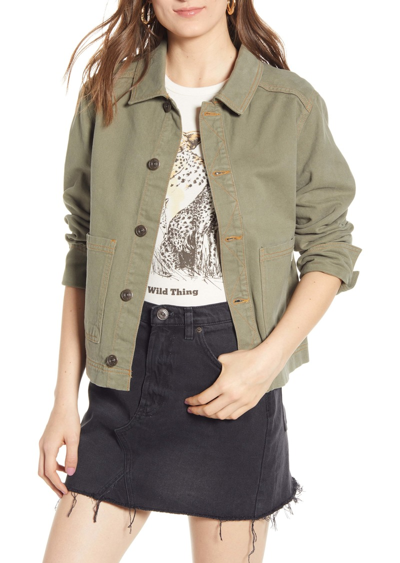 BDG Urban Outfitters Denim Utility Jacket