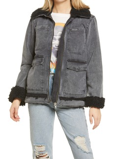 Urban Outfitters Exclusives BDG Urban Outfitters Fleece Lined Utility Jacket
