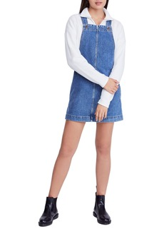Urban Outfitters Exclusives BDG Urban Outfitters Gaia Denim Pinafore Dress