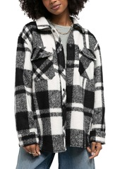 Urban Outfitters Exclusives BDG Urban Outfitters Leah Plaid Shirt Jacket
