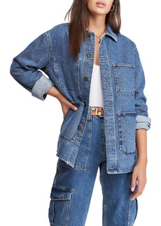 Urban Outfitters Exclusives BDG Urban Outfitters Longline Denim Jacket