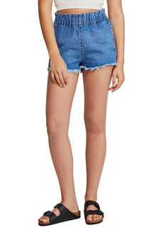 Urban Outfitters Exclusives BDG Urban Outfitters Paperbag Waist Denim Cutoff Shorts