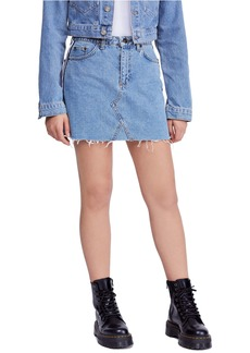 Urban Outfitters Exclusives BDG Urban Outfitters Side Stripe Denim Miniskirt
