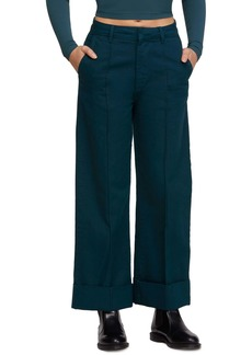 Urban Outfitters Exclusives Deep Cuff Wide Leg Trousers