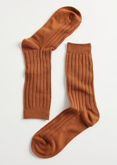 Urban Outfitters Exclusives Essential Ribbed Crew Sock