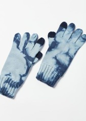 Urban Outfitters Exclusives Tie-Dye Flat Knit Tech Glove