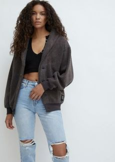 Urban Outfitters Exclusives UO Bear Oversized Shawl Cardigan
