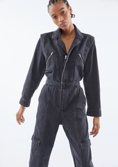 Urban Outfitters Exclusives UO Bella Zip-Front Coverall Jumpsuit