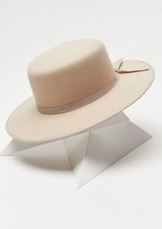 Urban Outfitters Exclusives UO Brighten Felt Boater Hat