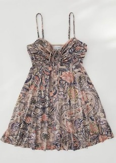 Urban Outfitters Exclusives UO Dasha Ruched Bodice Mini Dress