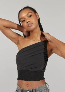 Urban Outfitters Exclusives UO Melendez One-Shoulder Smocked Tank Top