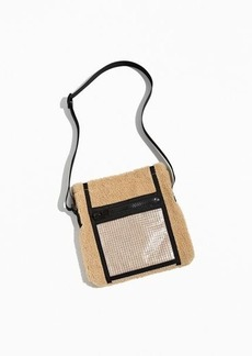 Urban Outfitters Exclusives UO Sherpa Sling Bag