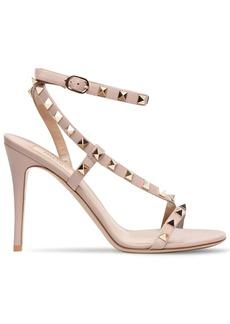 Valentino 100mm Rockstud Leather Sandals