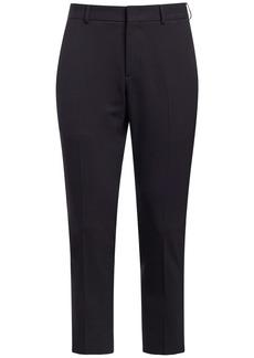 Valentino 17.5cm Wool Blend Slim Pants