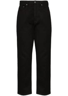 Valentino 2099 logo print slim jeans