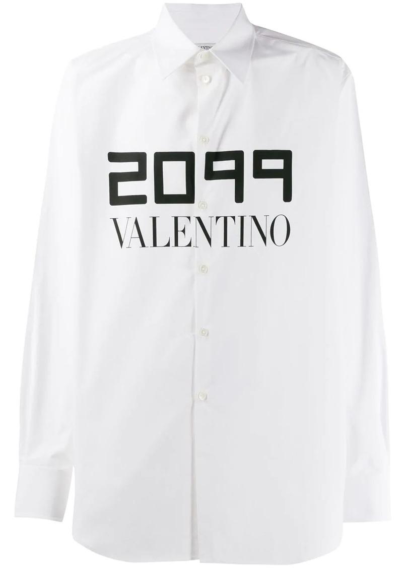 Valentino 2099 print relaxed shirt