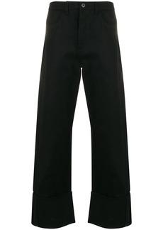 2099 Valentino print straight-leg trousers