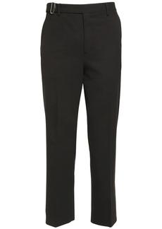 Valentino 21.5cm Wool Pants W/ Belt