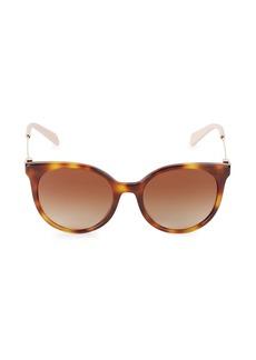 Valentino 53MM Square Sunglasses