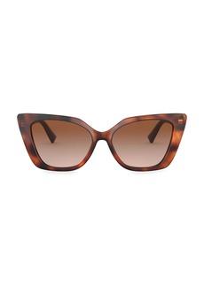 Valentino 56MM Cat Eye Sunglasses