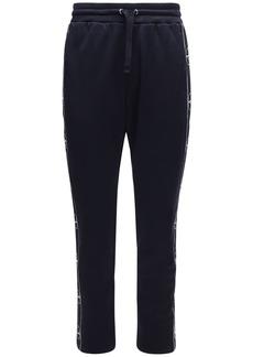 Valentino Acetate Jogging Pants W/ Logo Bands