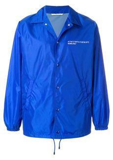 Valentino Always graphic coach jacket