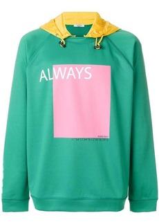 Valentino Always print hoodie