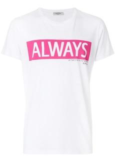 Valentino Always slogan T-shirt