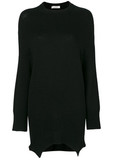 Valentino asymmetric elongated jumper