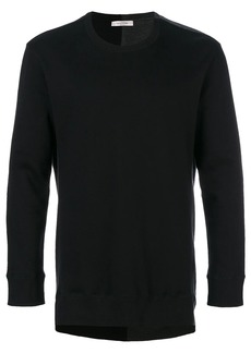 Valentino back print jumper
