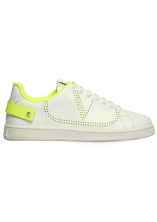 "Valentino """"""backnet"""" Leather Sneakers"""