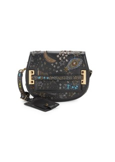 Valentino Beaded Saddle Crossbody Bag