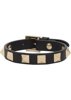 Black Valentino Garavani Rockstud Bracelet