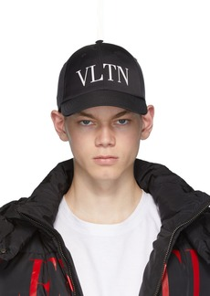 Black Valentino Garavani 'VLTN' Baseball Cap
