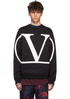 Valentino Black VLogo Sweatshirt