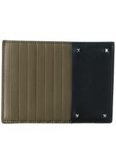 Valentino block panel coin purse