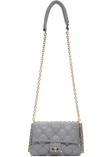 Blue Medium Valentino Garavani Candy Studs Bag